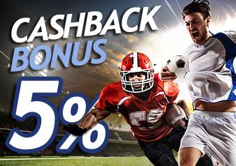 Promo Cashback 5%